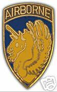 ARMY HAT PIN. 13th AIRBORNE DIVISION