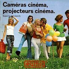 Accessoires Lecture et Publicité: Catalogue Eumig : Caméras cinéma, Projecteurs