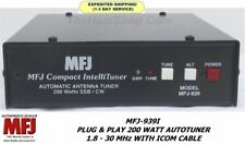 MFJ-939I Plug & Play 200 Watt Autotuner 1.8-30 MHz With ICOM Cable
