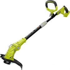 Cordless String Trimmer Edger 18-Volt Ryboi Grass Garden Weed Eater Tool Only