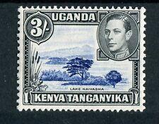 Kenya Uganda Tanganyika KGVI 1938-54 3s violet-blue & black SG147a mint hinged