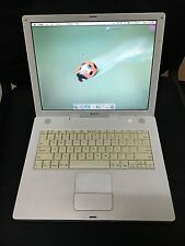 Apple Macbook iBook G4 A1055 14'' Laptop Computer 60GB Fully Functional