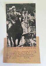 Equitation : Pierre Jonquères d'Oriola - GP de Rome de jumping 1954