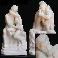 The Kiss is the famous sculpture of Rodin. Reproduction by A.Santini. Italy.