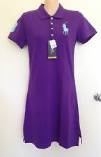 NWT Polo Ralph Lauren Slim Fit Purple Dress Big Pony Logo Size L (L11)