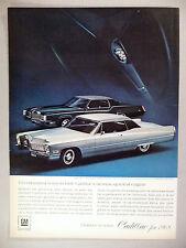 Cadillac PRINT AD - 1967 ~~ 1968 model
