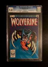 Wolverine Limited Series #2 (Marvel Comics, 1982) CGC 9.8 White Pages