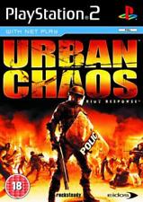 PS2-Urban Chaos: Riot Response /PS2  GAME NEW