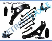 New 12pc Front Lower Control Arm Set & Suspension Kit 2004-2010 Toyota Sienna