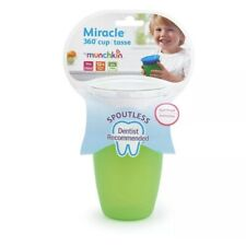 Munchkin MIRACLE 360 SIPPY CUP 296ML GREEN Baby Feeding BN