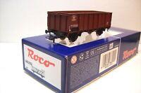 WAGONS TRAIN HO : TOMBEREAU EUROPÉEN SUR ESSIEUX de ROCO OCCASION (boite 66292)