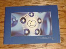 Original 1996 Lexus Full Line Sales Brochure 96 LS 400 GS 300 ES 300 SC Coupe