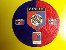 CAGLIARI GADGET CD CON SCUDETTO E STEMMI  VINTAGE  FATTO A MANO