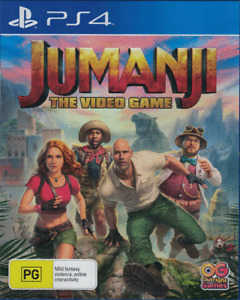 Jumanji The Video Game, Playstation 4, PS4 game Complete, Used