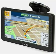 Hieha GPS Navigation Systems for Car Truck RV Vehicles 7 Inches 8GB 256Mb Naviga