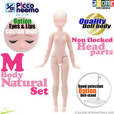 AZONE 1/12 Picco Neemo FLECTION M Natural Body & Non Flocked Head parts Doll NEW