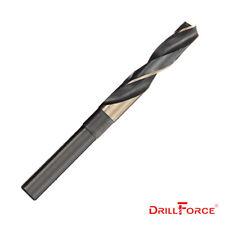 """Drillforce 19/32"""" S&D Silver Deming HSS Cobalt M35 1/2"""" Reduced Shank Drill Bit"""