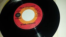 WYNN STEWART Hello Little Rock / You Can't Take It With You CAPITOL 3157 45