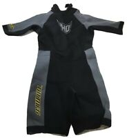 HO Sports X-Factor All-Sport Shorty Wet Suit Youth Size 14 AquaSeal Neoprene
