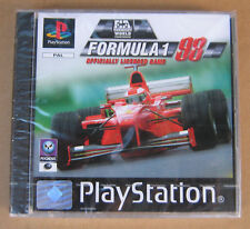 Videogame Formula 1 98 Playstation 1 PS1 PSX PSONE NEW&SEALED 1st print