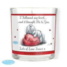 Personalised Me To You Scented Jar Candle Wedding Anniversary Valentines Gift