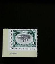 "2001 1c Pan-American Inverts, Steamship, ""City of Alpena"" Scott 3505a Mint VF NH"