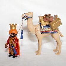 PLAYMOBIL NOEL - roi mage Balthazar et dromadaire - complète la crèche playmobil