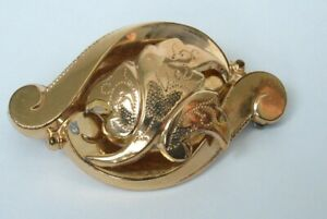 Antique Victorian Gold Filled Brooch