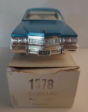 1978 Cadillac Coupe De Ville Jo-Han Promo Model  Mediterranean Blue Firemist MIB