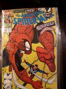 Marvel Comic The Amazing Spider-Man #345 Vfn+ 1990  Boomerang + VENOM Lives! KEY