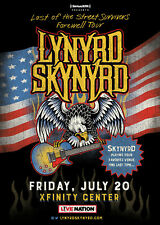 "LYNYRD SKYNYRD ""LAST OF THE STREET SURVIVORS TOUR"" 2018 MASS CONCERT POSTER-Rock"