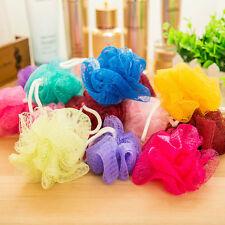 5 Pcs Puff Sponge Scrub Compact Mesh Net Bath Ball Bath Shower Send Random Pro