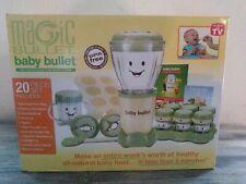 Magic Bullet Baby Bullet Baby Food Maker Kitchen Blender 20 Piece Set