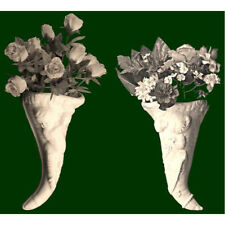 Royal Creamware Cornucopia (Left)