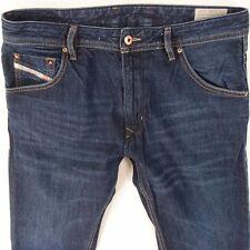 Mens Diesel KRAYVER 0823K Stretch Slim Carrot Regular Fit Blue Jeans W32 L32