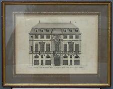 Jean Marot - Principale entrée de l'hostel de Beauvais - Gravure XVIIe s.