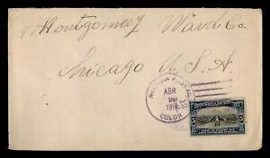 DR WHO 1919 PANAMA COLON TO USA  g02148