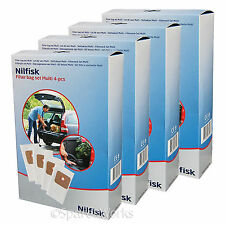 NILFISK Genuine MULTI Wet & Dry 20 20T 30T Vacuum Cleaner Dust Bags x 16