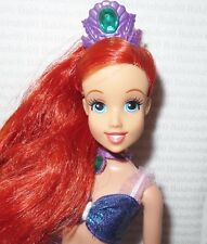 "(^^) ~ DRESSED DOLL DISNEY MATTEL 10.5"" ARIEL FASHION DOLL FOR OOAK OR DISPLAY"