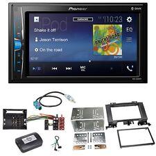 Pioneer MVH-A200VBT Bluetooth USB Einbauset für Mercedes Sprinter W906 Crafter