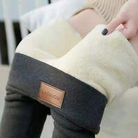 Winter Women Leggings Velvet Warm Pants Hight Waist  Women Solid Color Legging