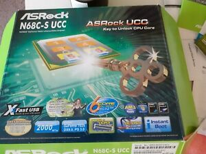 asrock N68C-S UCC. Might be good for parts.