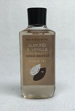 1 Bath & Body Works ALMOND & VANILLA w/ Natural Almond Oil Shower Gel