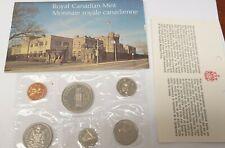 1973 Canada uncirculated coin set