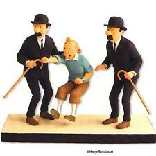"TINTIN MOULINSART HERGE 44004 Statuette ""Comme on se retrouve.."" Fariboles"