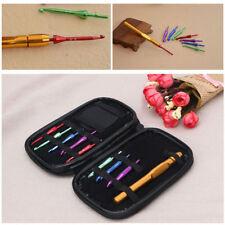 Interchangeable Head Crochet Hook Alumina Knit Needle Handle Weave Sewing Tools