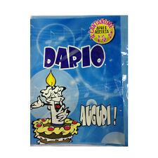 CUMPLEAÑOS tarjeta de musical canta nome DARIO y FELIZ En TE