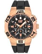 New Men's Caterpillar CAT Analog Rubber R819321139 SPRINT Date CHRONO Rose Watch