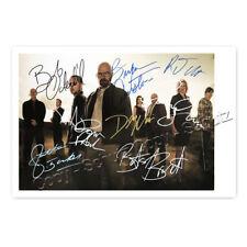 Breaking Bad - Cast - Cranston, 8 Unterschriften - Autogrammfotokarte laminiert