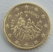 50 Euro Cent San Marino 2015 unz